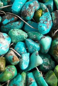 Stabilized Turquoise Nuggets