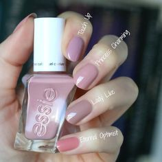 Essie Gel Couture 2018 Enchanted Collection : Swatches & Comparisons   Essie Envy