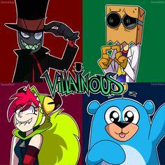 Villainous by Isosceless
