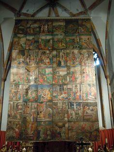 Voile de Carême de l'Abbaye de Millstatt en Autriche - 1593