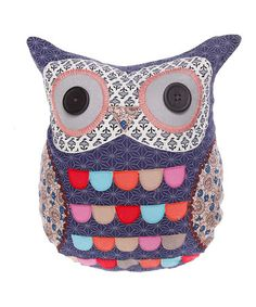 Montague the Owl Cushion by Forest Friends: Home Accessories on #zulilyUK today!