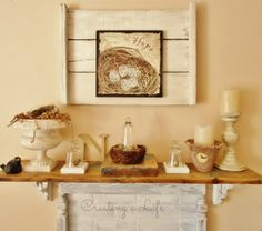Creating A Life: Spring in {Half} the Living Room