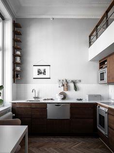 cac3467d60f0 etreliving10 Кухонний Інтер єр, Кухня, Домашній Декор, Інтер єр, Білі