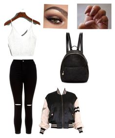 """""""Casual dayz"""" by coolasia23 ❤ liked on Polyvore featuring New Look, Moschino and STELLA McCARTNEY"""