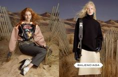 Balenciaga Fall 2012 Ad Campaign Photographed by Steven Meisel