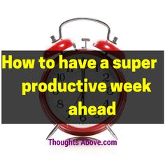 An awesome article entails productive things to do on a weekend, how to have a productive week.Also, talks about productive time management on a Sunday.