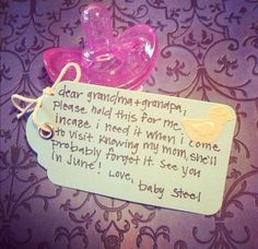 How to tell your parents theyre going to be grandparents! - check more here http://ehowtogetpregnant...