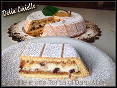 RICETTA DI: Delia Ciriello CASSATA SICILIANA AL FORNO Dose per una cassata dal diametro 20 cm: Ingredienti: per la pasta frolla 250g di farina 00