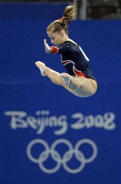 Shawn Johnson, 2008 Olympics