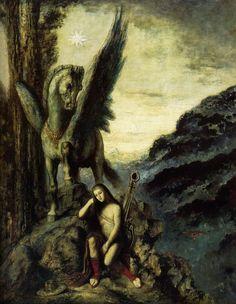 'The Travelling Poet', 1891, Musée Gustave Moreau, Paris