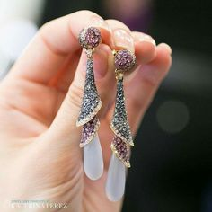 Chalcedony,aquamarine and pink sapphires