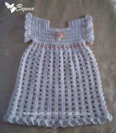 Dress for baptism and free charts