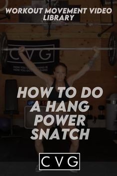 Welcome to our movement library! You are on your way to healthy and strong gains! This video will go over the power position power snatch movement. You Fitness, Fitness Goals, Crossfit Workouts At Home, Video Library, High Intensity Workout, Ways To Burn Fat, Rowing, Kettlebell, Barbell