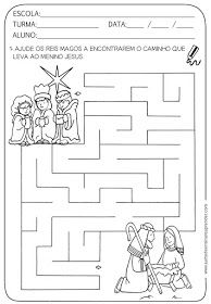 Christmas Maze, Man Crafts, Three Wise Men, Kits For Kids, Sewing Patterns Free, Free Sewing, Kings Day, Colouring Pages, Fun Learning