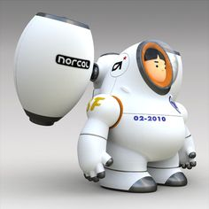 Rocket Boy by Norio Fujikawa, via Behance