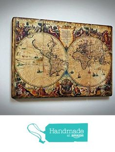Wood world map father gift wood wall art mens gift wood map travel rustic world map on the wood personal gift uniquequality special exclusive gumiabroncs Choice Image