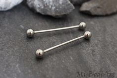Tongue Piercing Jewelry Barbell at MyBodiArt Piercing Tongue Web, Smile Piercing, Piercing Labret, Tongue Piercing Jewelry, Tongue Rings, Body Piercings, Piercing Bridge, Piercing Madonna, Tongue Bars