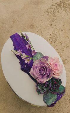 Vintage roses cake