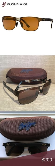 b467c9eef8c Comes with original box, case and Maui carrying bag and microfiber cleaning  cloth. MAUI JIM SUNGLASSES EYEGLASSES HARD ...
