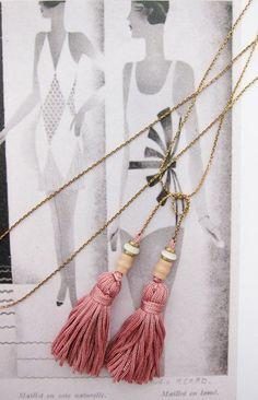 Tassel necklace