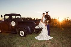 Fall Military Wedding at Historic Penn Farm on Borrowed & Blue.  Photo Credit: Mobile Video and Photography
