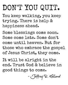 1000+ Elder Holland Quotes on Pinterest | Holland Quotes, Elder ...