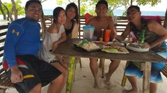 Lunch.. #Calaguas #friends #island #adventure #travels #july2-4.16