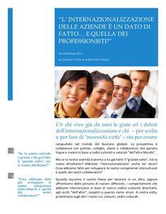 internazionalizzazione-26545869 by Daniela Cottone via Slideshare