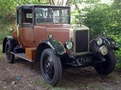 1926 Armstrong Siddeley 14HP coupe