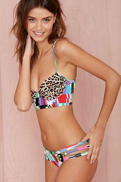 Mara Hoffman Jaguar Bikini