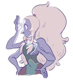 Image in opalo collection by on We Heart It Perla Steven Universe, Greg Universe, Universe Art, Lapis Lazuli, Character Art, Character Design, Cartoon Shows, Fanart, Cartoon Network