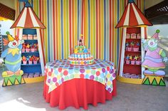"""Photo 1 of 29: Circus / Birthday """"Circus Party""""   Catch My Party"""