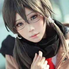 Sinon/Shino Asada from Sword Art Online cosplay