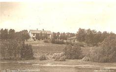 Hedmark fylke Tønset (Tynset),folkehøiskolen - foto Carl Normann,Hamar 1917