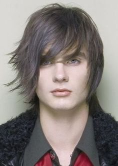 prom hairstyles for long hair Prom Hairstyles, Easy Mens Hairstyles, Boys Long Hairstyles, Hairstyles With Bangs, Layered Hairstyle, Hairstyle Images, Cheap Human Hair Wigs, Remy Human Hair, Short Hair With Layers