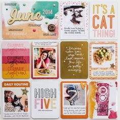 2014 Project Life | June p.1 - Scrapbook.com - Don't forget the pets in your project life or pocket page scrapbooking albums!