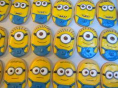 Minion Birthday cookies - Mt Lookout Sweets