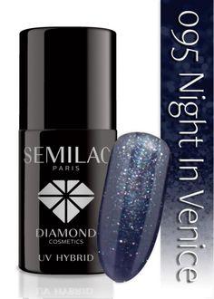 Lakier hybrydowy Semilac 095 Night In Venice - 6 ml