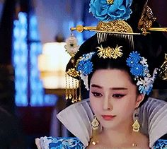 That's rough, buddy., semperji: Fan Bingbing - The Empress of China That's rough, buddy. Fan Bingbing, Asian Style, Chinese Style, Doll Costume, Costumes, My Fair Princess, Ice Queen Costume, Wu Zetian, The Empress Of China