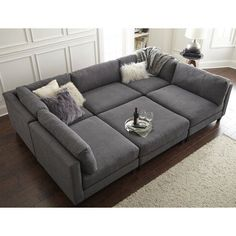 """THE PIT"" modular sectional - Home by Sean & Catherine Lowe - Found it at Wayfair - Chelsea Modular Sectional"