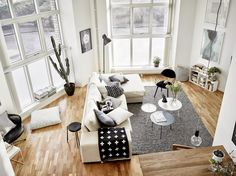 A fab monochrome duplex in Gothenburg. stadshem.