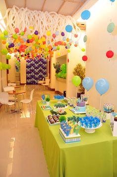 Btrizballoon: festa infantil Monstro S.A PIXAR( Matheus)
