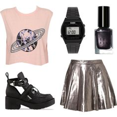 """""""space age"""" by newgold on Polyvore"""