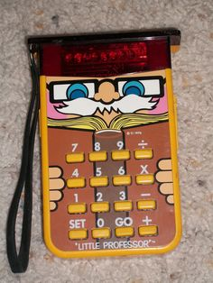 1976 - Little Professor Calculator Math Tutor Game