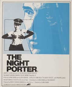 The Night Porter (Italian: Il Portiere di notte) is a controversial 1974 art film by Italian director Liliana Cavani, starring Dirk Bogarde and Charlotte Rampling. The Night Porter, Master P, The Criterion Collection, Charlotte Rampling, Weird Stories, Film Posters, Vintage Movies, Memes, 1974 Fashion