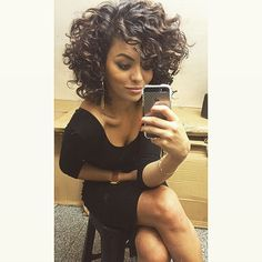 Lots of celebrities these days sport short curly hair styles, but some of them really stand out. When we think of curly short hair, the image of AnnaLynne Love Hair, Great Hair, Big Hair, Gorgeous Hair, Amazing Hair, Curly Hair Cuts, Short Curly Hair, Short Hair Cuts, Curly Hair Styles