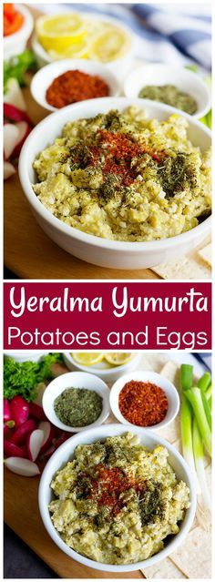 Yeralma Yumurta - Potatoes and Eggs is a basic Persian dish from Tabriz in the northwest of Iran where my father was born. It's one of the most famous street foods of the region.