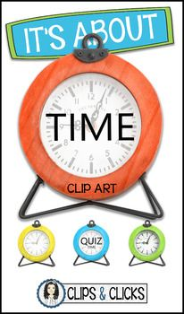 """Isn't it always about time? This is a set of Clock Photos/Clip Art to add to any personal or commercial project. There are 4 different types:   Free Face   Diffused Face ready to add your own text   """"Quiz Time"""" Title   """"Time"""" TitleEach type comes in 4 different colors (Blue, Orange, Green and Yellow).My Clip Art/Photos can be used for personal and/or commercial use, such as Scrapbooking, Photography, Classroom items and Educational Resources like Teachers Pay Teachers."""