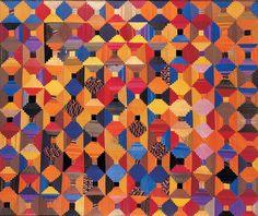 Samuel Steinberger (1865–c. 1934)  New York City  1890–1910  Silk  58 x 69 1/2 in.