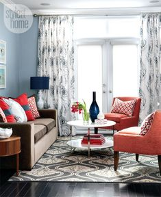 Modern townhouse living room   The Suite Life Designs